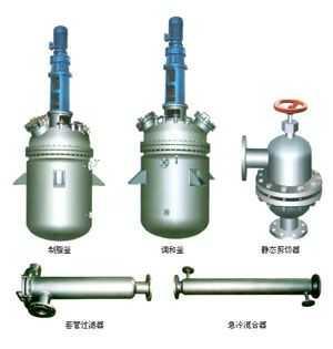 山东龙兴反应釜润滑油脂设备 润滑油脂成套设备厂家