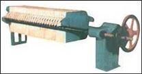 手動壓緊板框式過濾機
