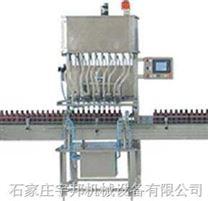 10個頭直列式液體灌裝機