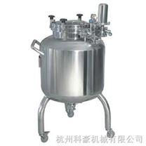 可移动式不锈钢储罐(带万向轮)