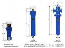 压缩空气XF3级超高效除油过滤器