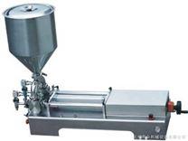 雙頭膏體定量灌裝機-杭州普眾機械