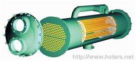 殼管式冷凝器-殼管式換熱器-冷凍機冷凝器-制冷配件