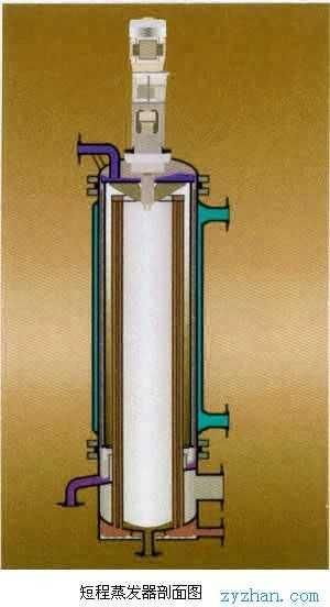 刮板蒸发器 结构图