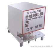 DR钢印自动批号打码机