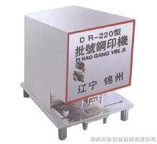 DR-220批号钢印机