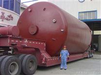 120立方鋼襯塑立式防腐儲罐、順利竣工出廠
