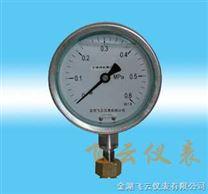 抗震压力表