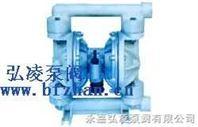 隔膜泵:QBY塑料氣動隔膜泵