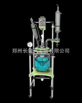 雙層玻璃反應釜*鄭州長城科工貿
