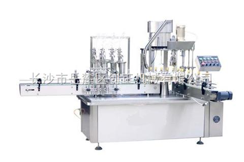 YG系列四泵灌装旋盖一体机