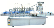 不銹鋼液體灌裝旋蓋一體機