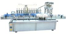不锈钢液体灌装旋盖一体机